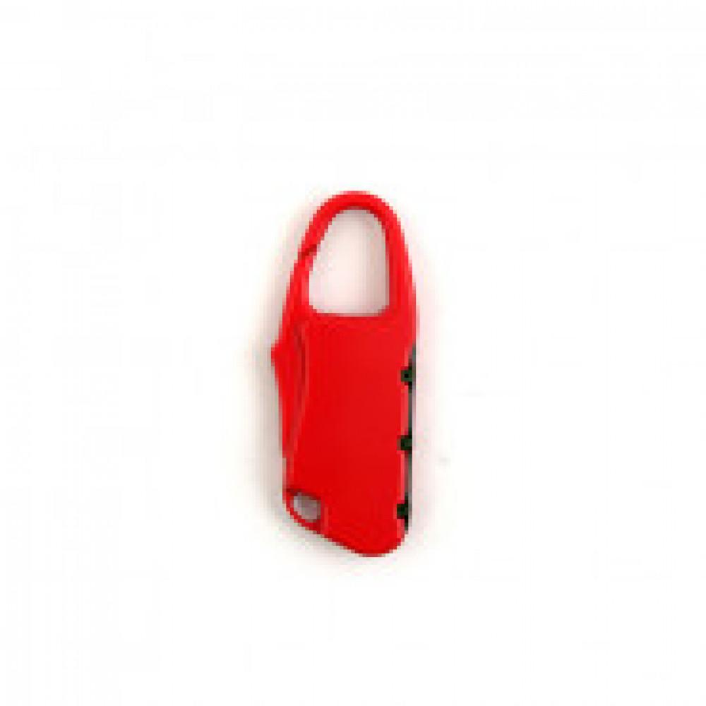 Замок навесной для багажа Apecs PDZ-25-25 код.замок красн.