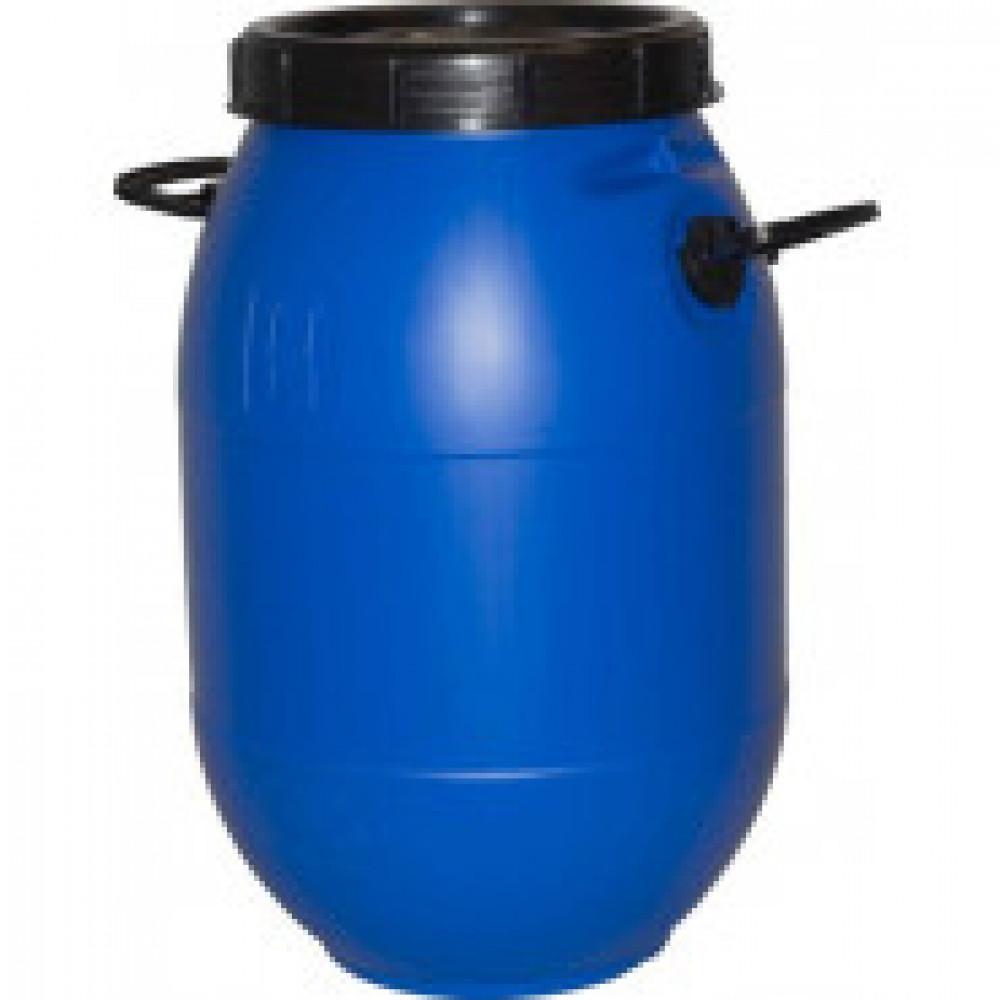 Бочка п/э 50л с винтовой крышкой синяя (БПЗ 50)