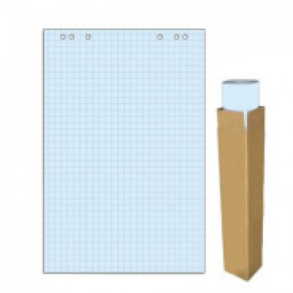 Бумага для флипчартов голубая пастель клетка 68.0х98.0 20 лист.80гр.