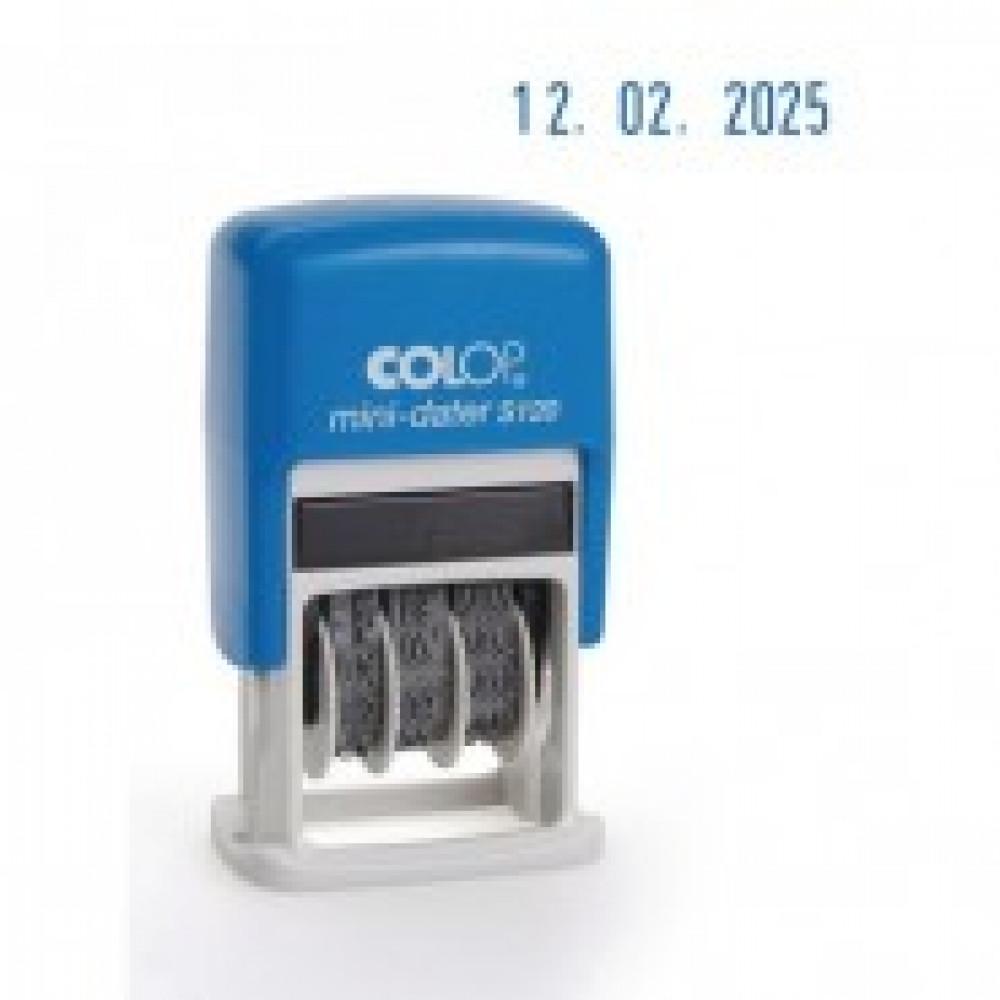 Датер автоматический мини S120Bank шрифт 3,8мм месяц цифр.(аналог4810B) Col