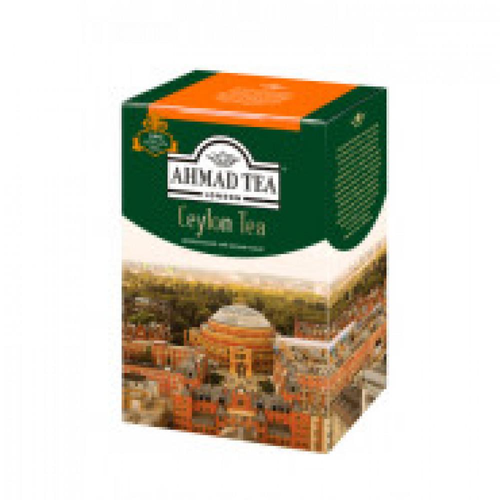 Чай Ahmad Ceylon Tea листовой черный Оранж Пеко, 200г 1289-012