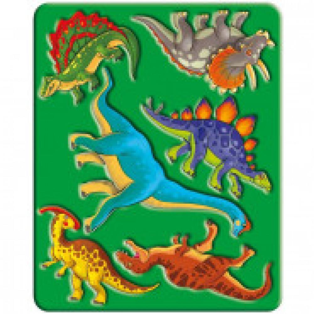 Трафарет Динозавры, 10С 525-08