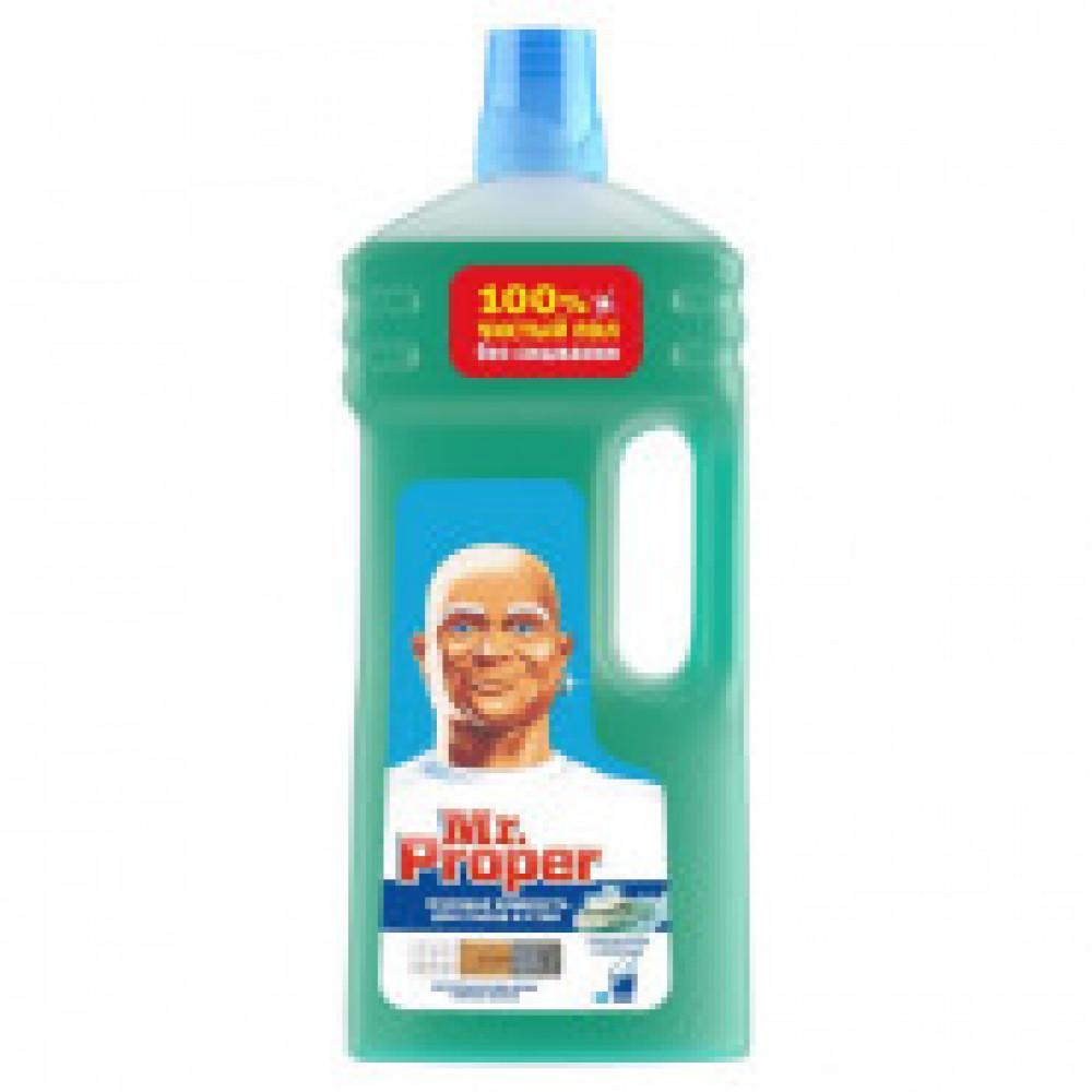 Средство для мытья пола Mr. Proper Горный ручей и прохлада 1,5л