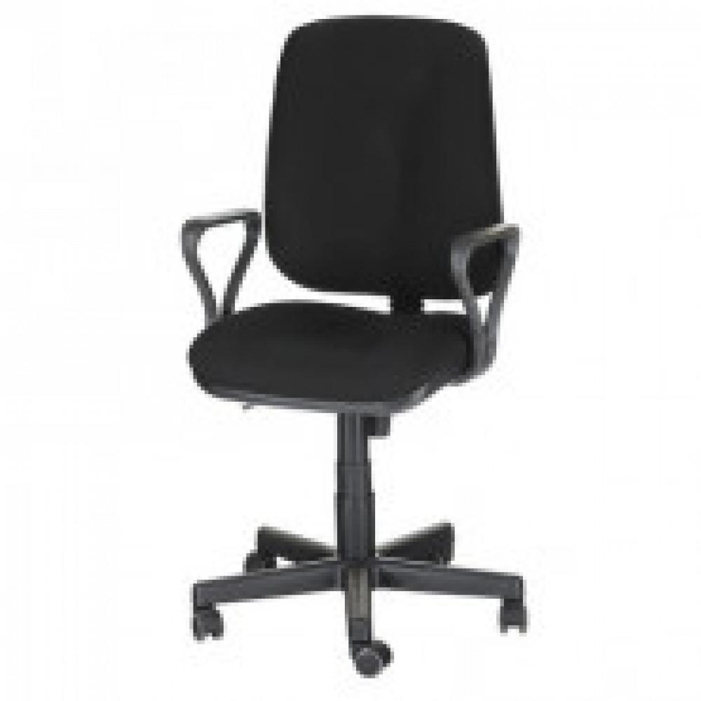Кресло OL_EChair-301 PJP ткань черная 15/2, пластик
