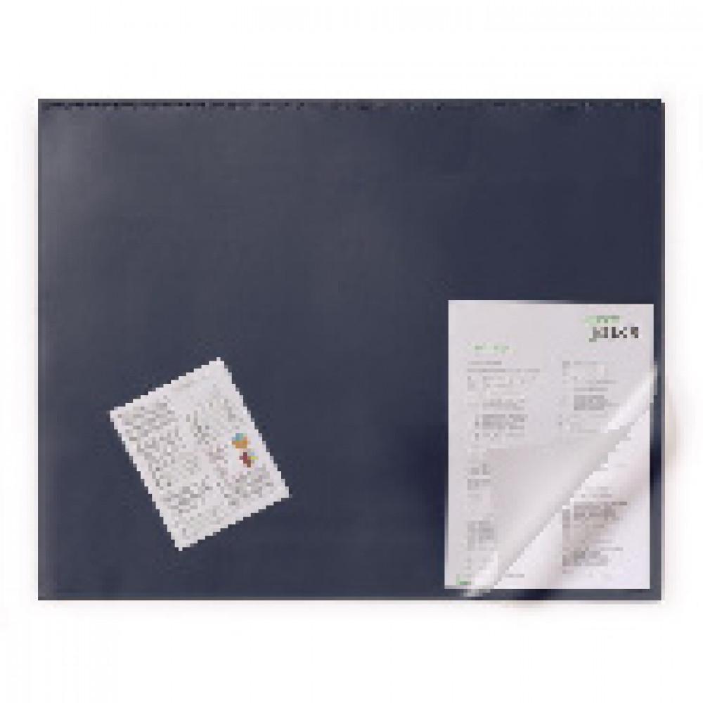 Коврик на стол Durable 520х650 мм синий (с прозрачным верхним листом)