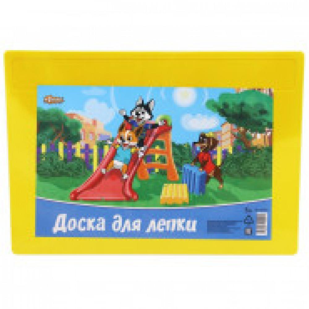 Доска для лепки №1School Шустрики, А4,  297Х210мм