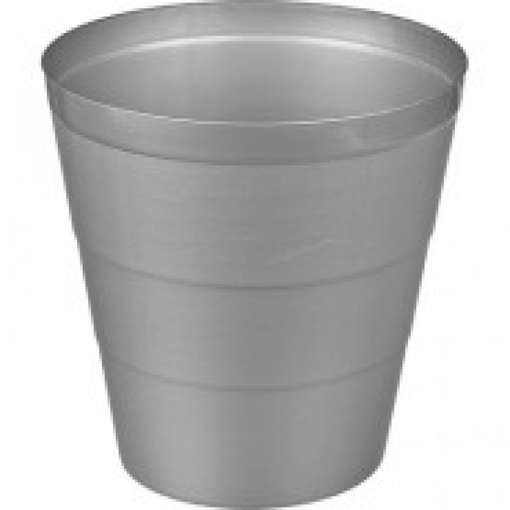 Корзина для мусора 14 л пластик серая (29х30 см)