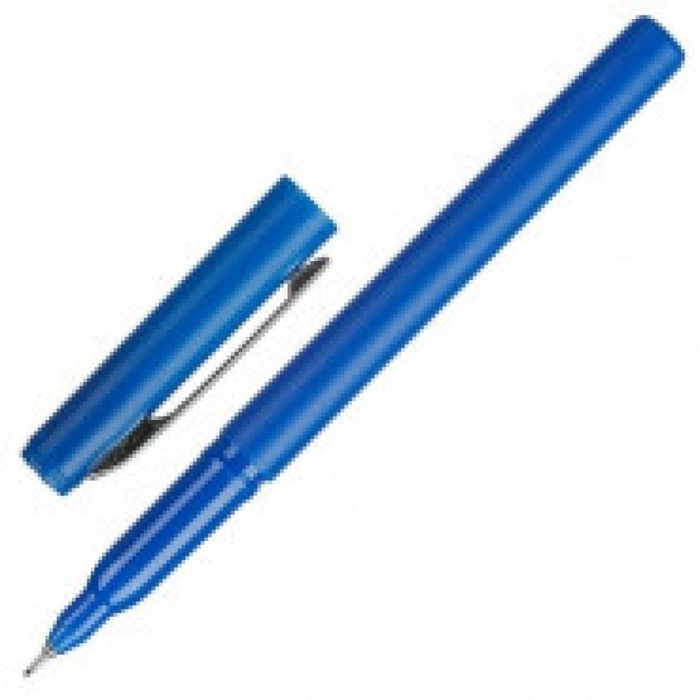 Линер Attache Contour синий c металлическим клипом (толщина линии 0.5 мм)