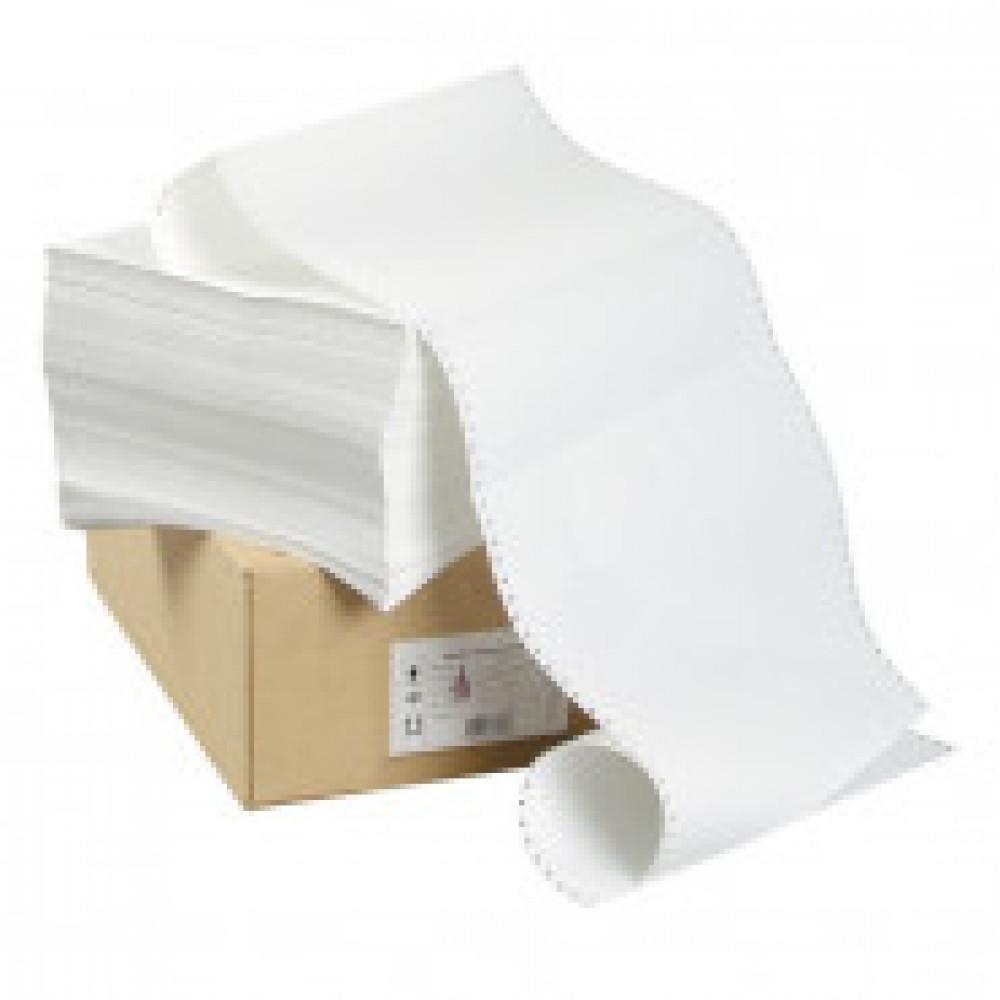 Перфорированная бумага Promega 420мм 1-сл.,шаг12 ,бел.90%,НП, 1500л/уп