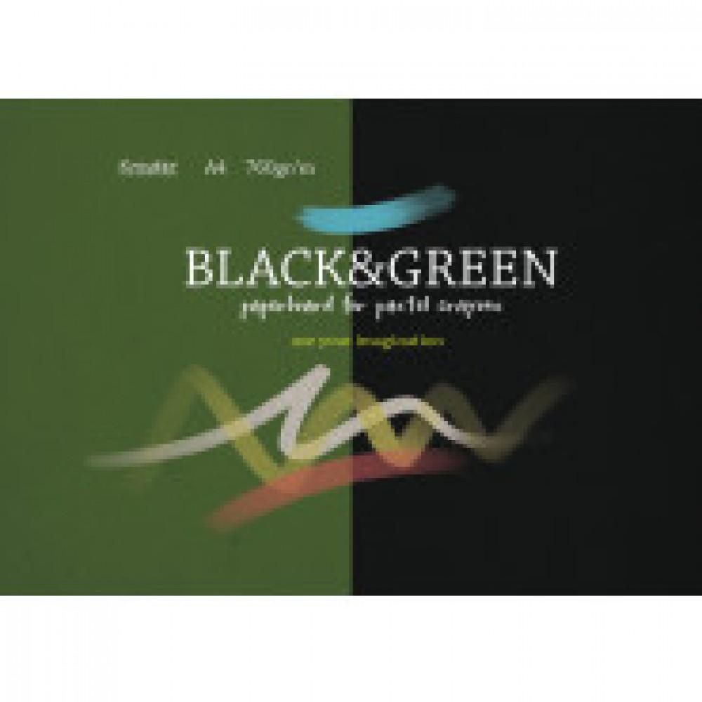 Альбом для рис. пастелью А4 10л, блок 760 гр/м, тониров. по 5 листов 07668