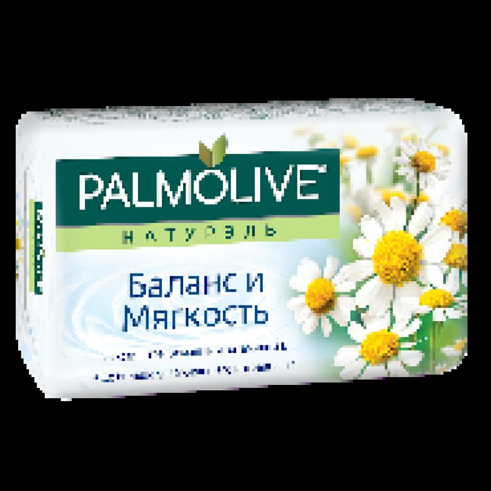 Мыло туалетное 90г PALMOLIVE Баланс и мягкость (экстракт ромашки и вит Е)