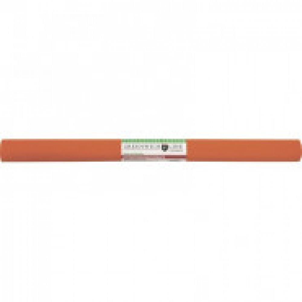 Бумага гофрированная Greenwich Line оранжевая 50x250 см