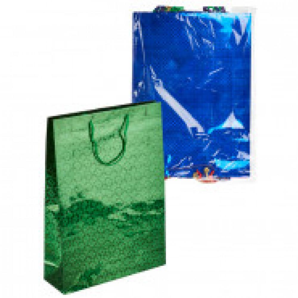 Пакет подарочный 10 штук в упаковке ГОЛОГРАФИЯ XLG 324x445x102