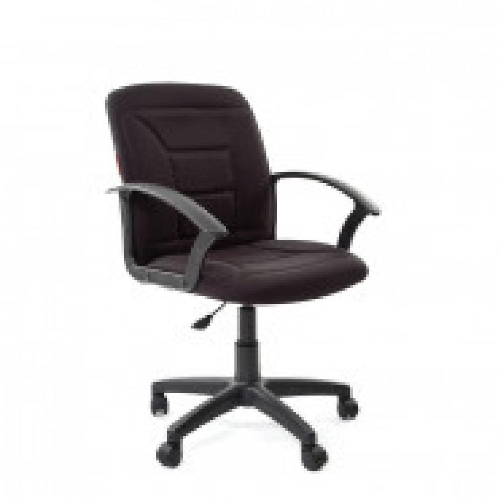 Кресло офисное Chairman 627 черное (ткань, пластик)