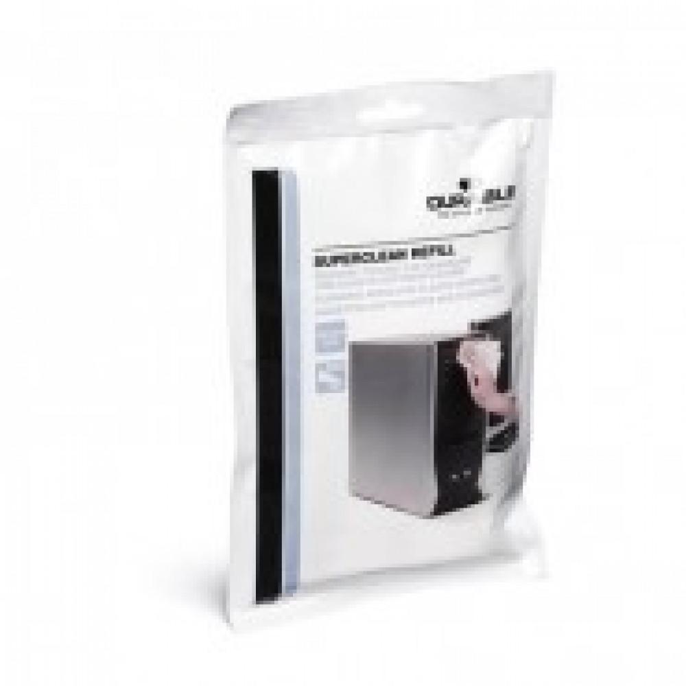 Салфетки Durable Superclean refill д/пластика зап.блок 100 шт (5709)