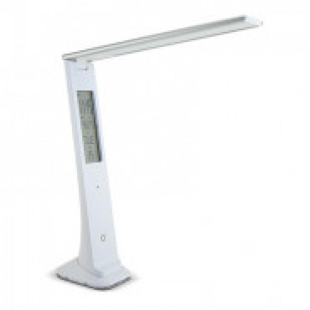 Светильник Lucia L540, белый, 2W, темпер/дата/время, зарядка от USB