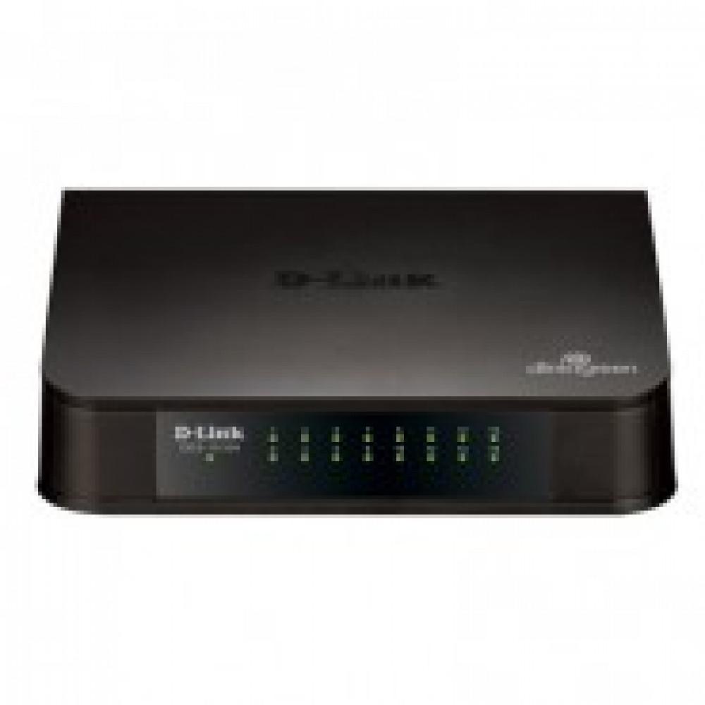 D-Link DES-1016A/E1B 16x100Mb неуправляемый