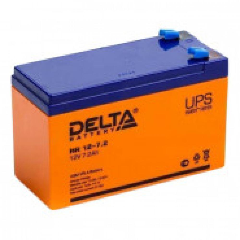 Аккумуляторная батарея Delta HR 12-7,2 (12V/7,2Ah)