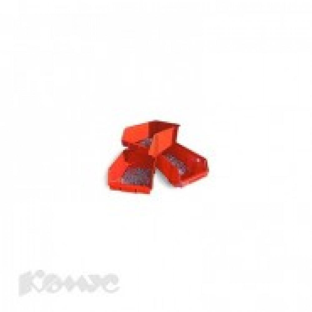 Метал.Мебель D_Ящик пластиковый Серия А красный 230х400х150