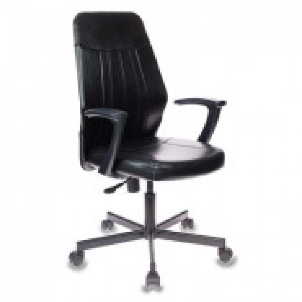 Кресло VB_EChair-224 PPU к/з черный, металл