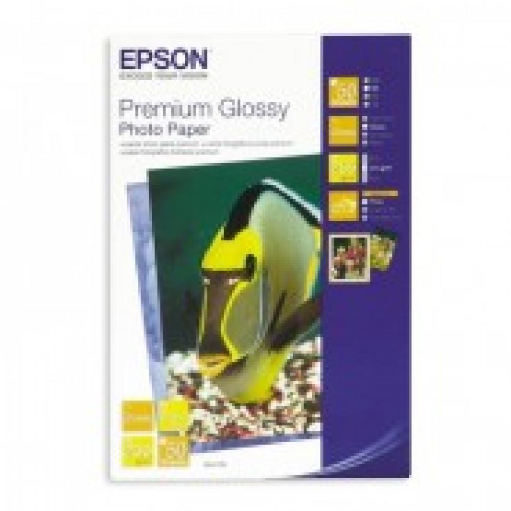 Бумага для цв.струй.печ. EPSON s041729 (10x15,255г,глянцевая) пачка 50л.