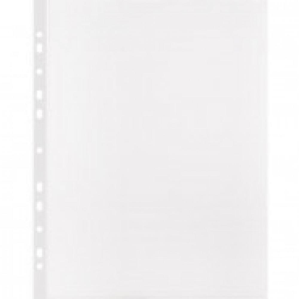 Папка -файл перфорированная А4 100шт., гладкая Элементари 0,030 мм