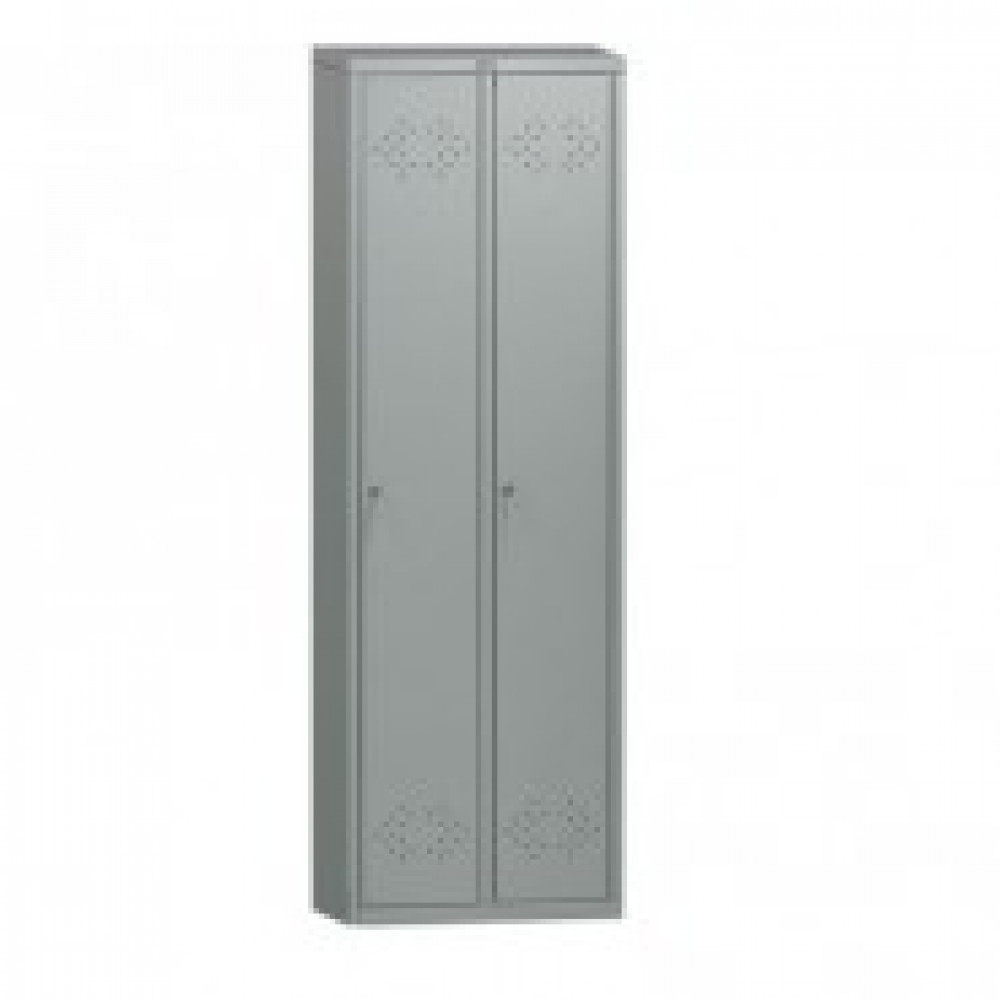 Метал.Мебель ПРАКТИК LS-21 шкаф д/одежды 2 дв. 575х500х1830