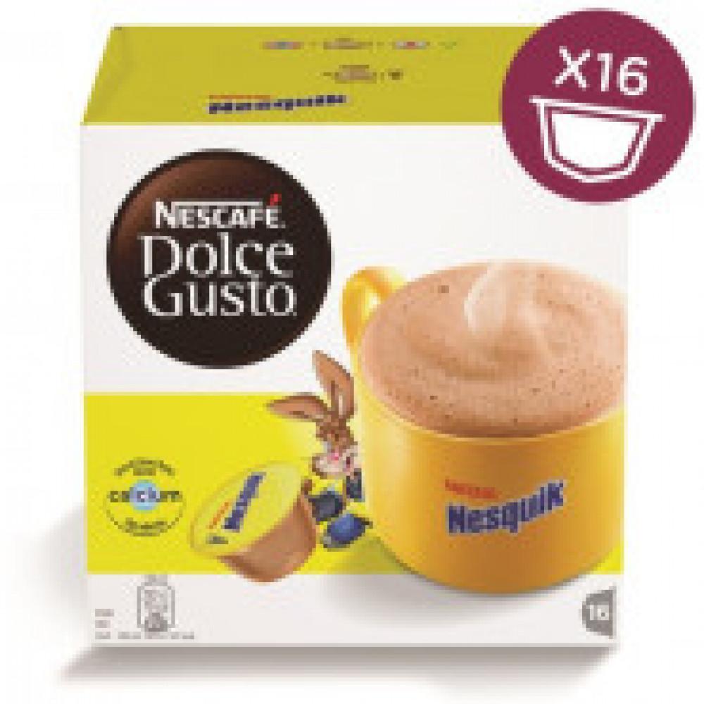 Капсулы для кофемашин Nescafe Dolce Gusto Nesquik 16 кап.