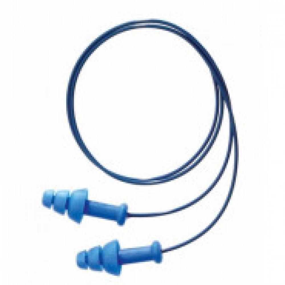 Беруши многоразовые Honeywell SmartFit Detectable со шнурком (артикул производителя 1012522)