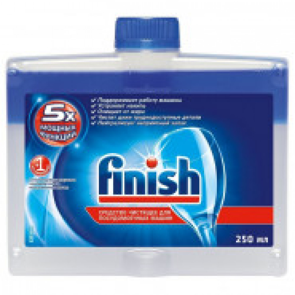 Средство чистящее для посудомоечных машин FINISH  250 мл