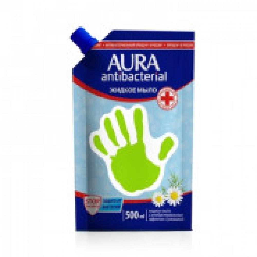 Мыло жидкое AURA с антибакт. эффектом Ромашка 500мл