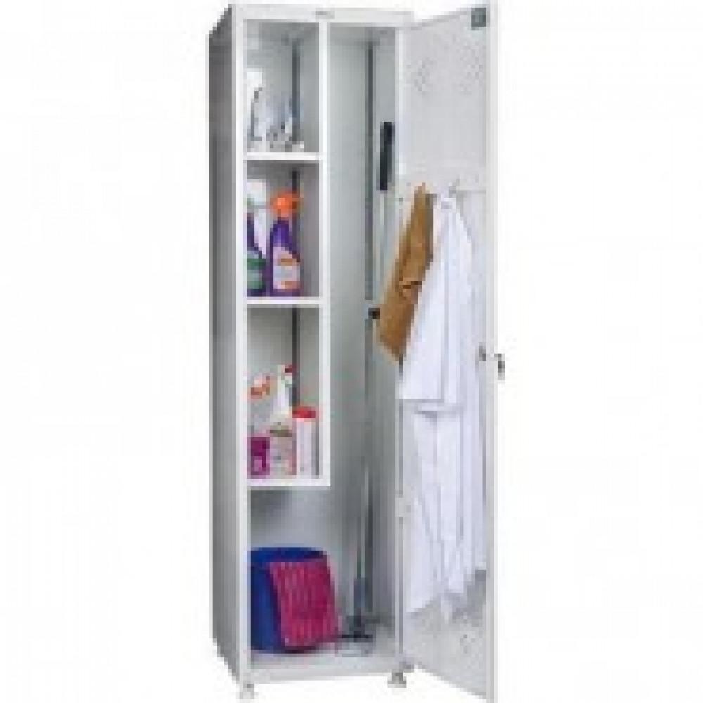 Шкаф для одежды медицинский HILFE МД 1 ШМ-SS (11-50) хозяйств.,белый