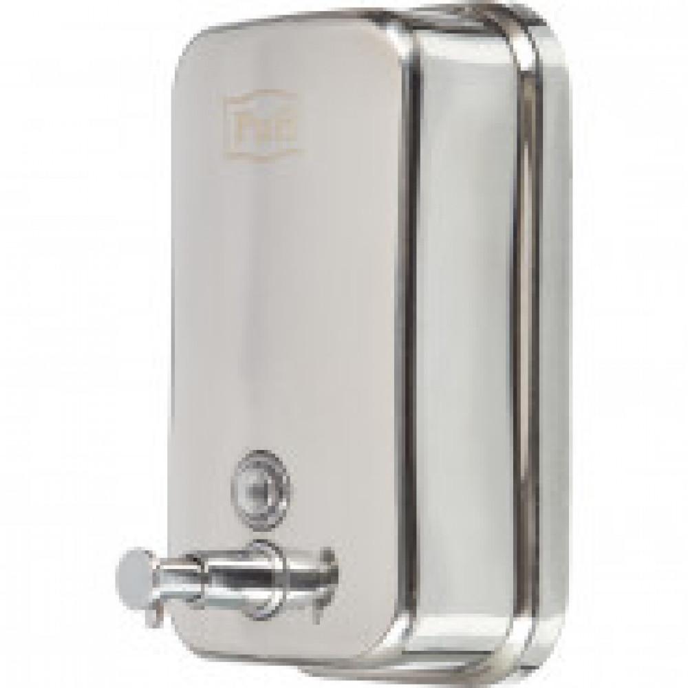 Дозатор для жидкого мыла 1л, стальной корпус