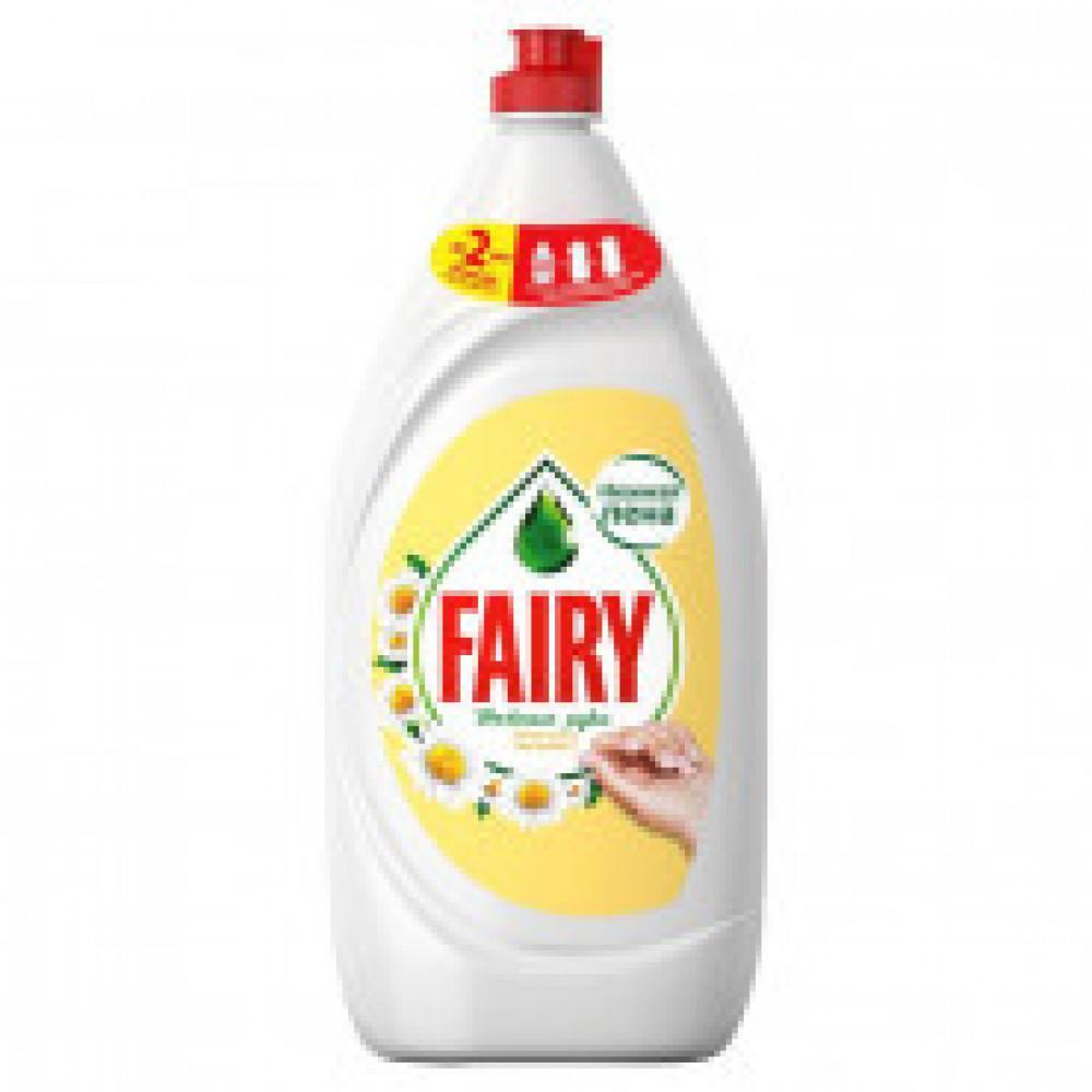 Средство для мытья посуды Fairy Нежные руки Ромашка 1,350л
