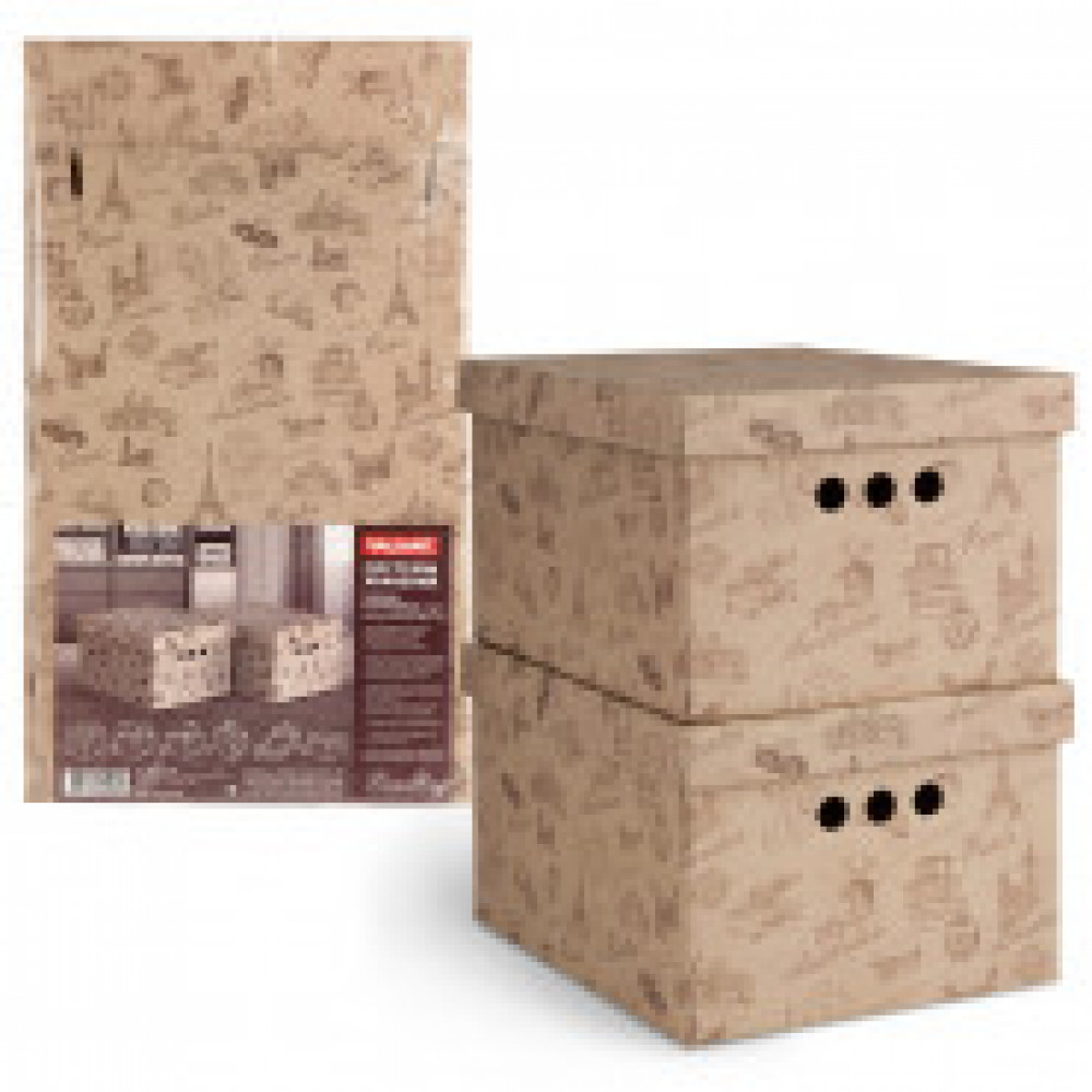 Мебель для дома VAL TRAVELLING Короб карт,склад,мал,набор 2 шт,TC-BCTN-2S