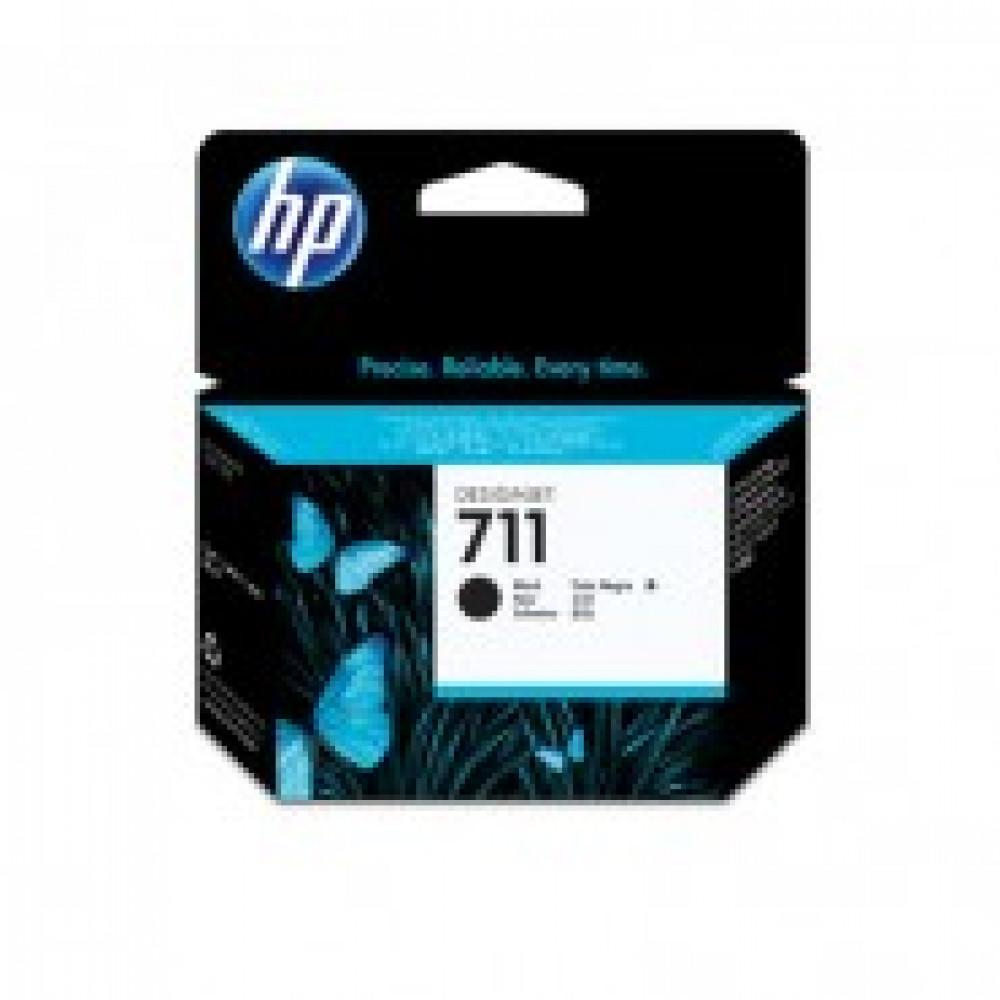 Картридж струйный HP 711 CZ133A чер. пов.емк. для DgnJ T120/520