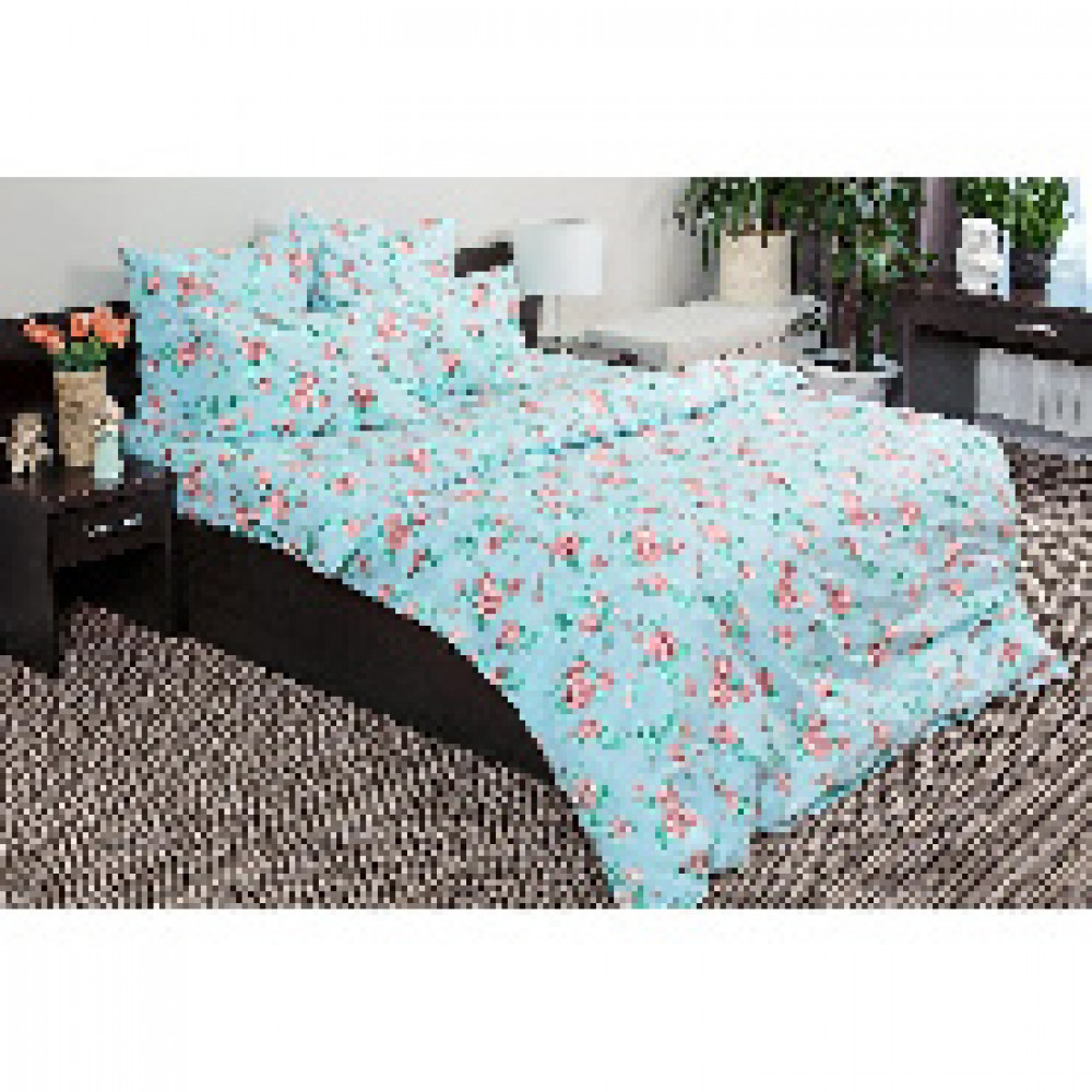 Комплект постельного белья 2 сп бязь 120гр/м2 Письма