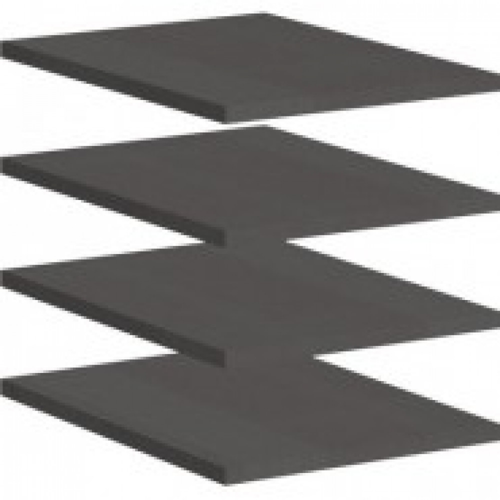 Мебель SH_Стратегия Комп.-т полок Y81 4шт.к шкафу S81 (500019)