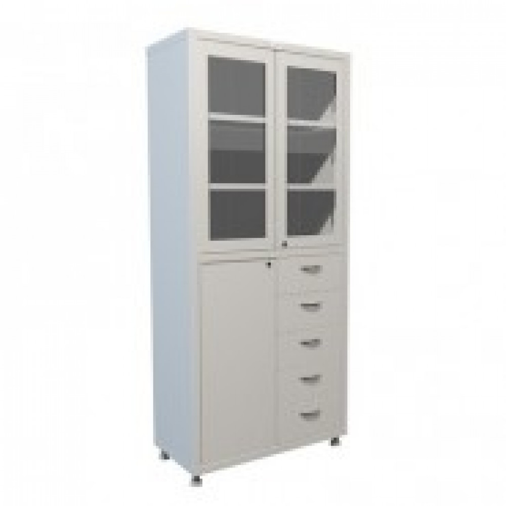 Метал.Мебель HILFE МД 2 1780 R-5 Шкаф медицинский, 800х400х1850