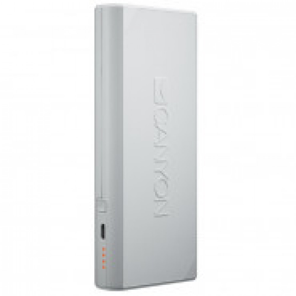 Внешний аккумулятор 10000 mAh, Li-Ion, 2xUSB, SmartIC, Canyon,CNE-CPBF100W
