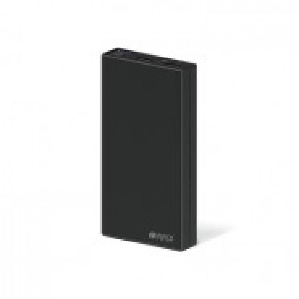 Внешний аккумулятор 15000 mAh, Li-Ion, 2xUSB, 2.1A+1A, Hiper, черн,RP15000