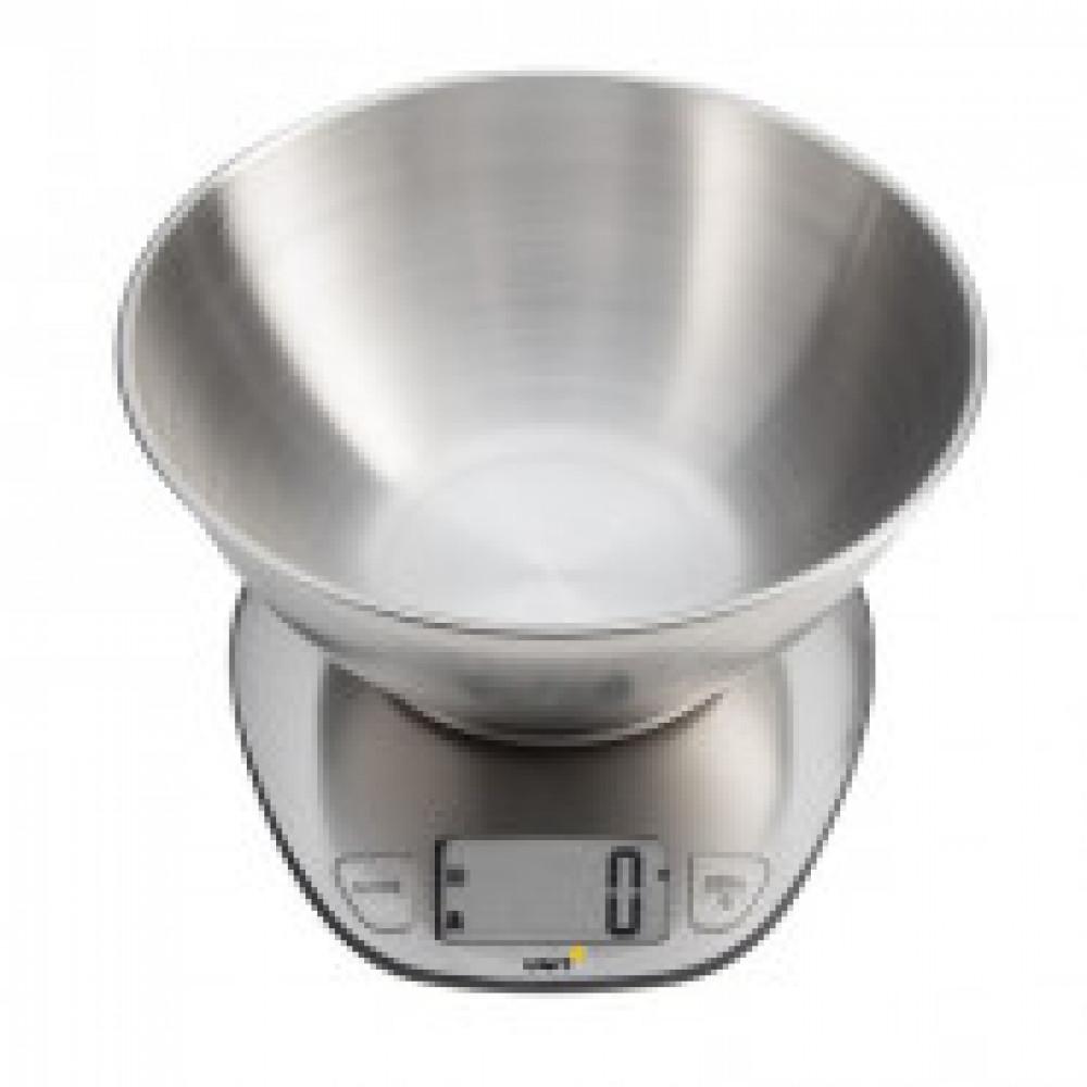 Весы кухонные UNIT UBS-2153, Cталь, Чаша 5кг. 1гр.