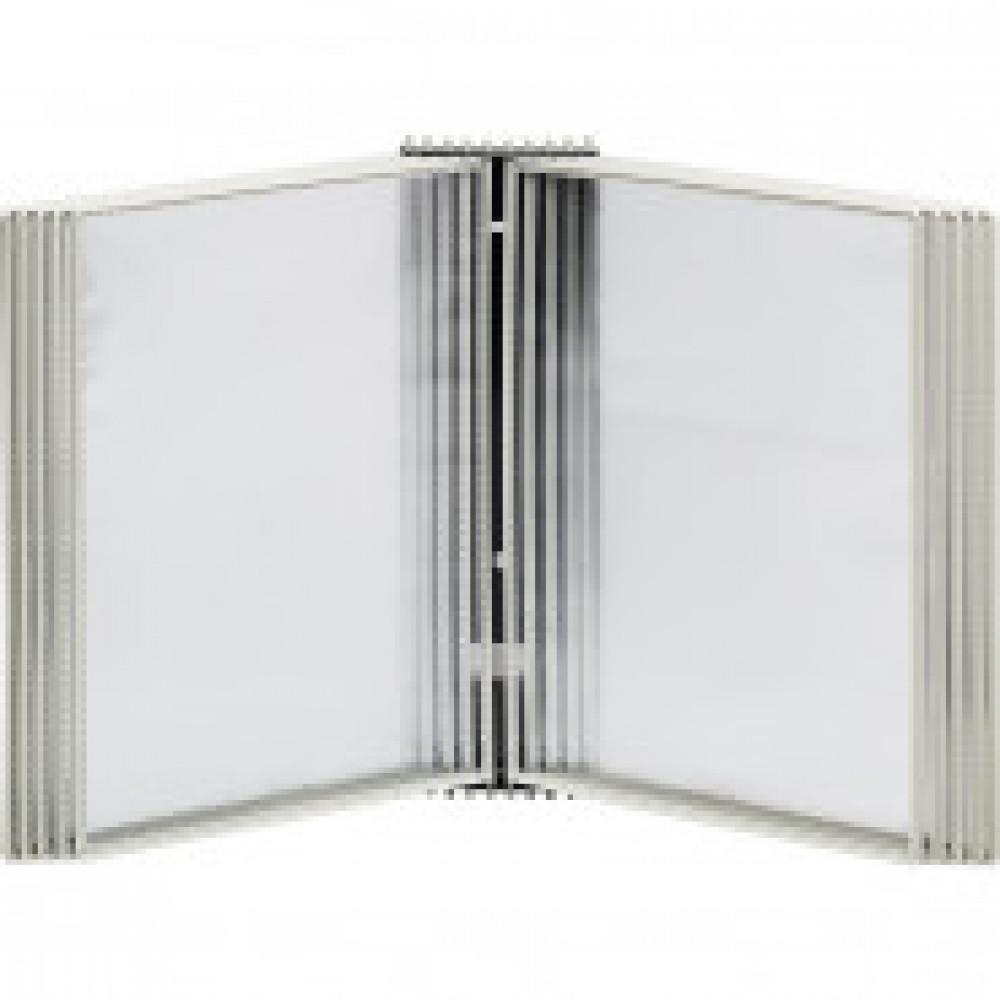 Демосистема настенная Promega office 10 панелей, серый, 2части