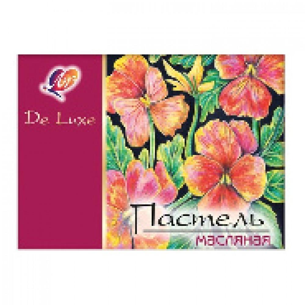 Пастель масляная Луч Люкс 24 цветов