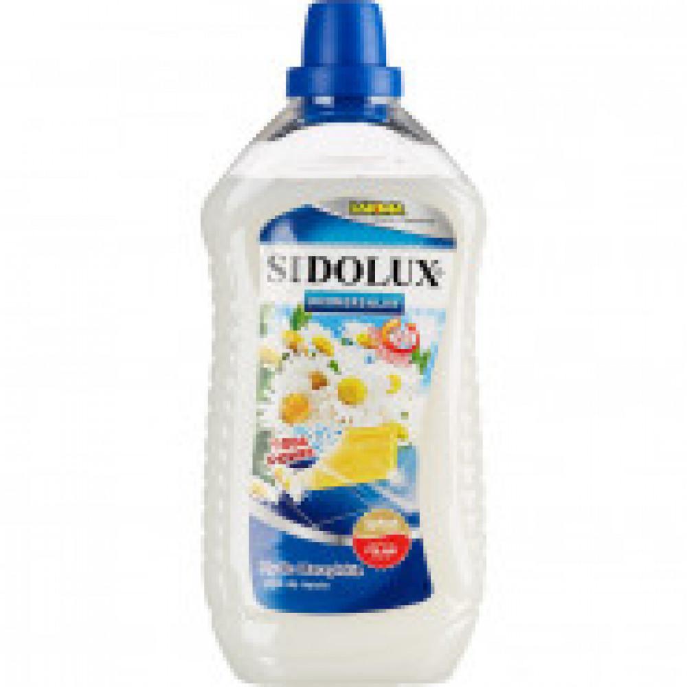 Средство для мытья пола SIDOLUX 1л универсальный Марсельское мыло