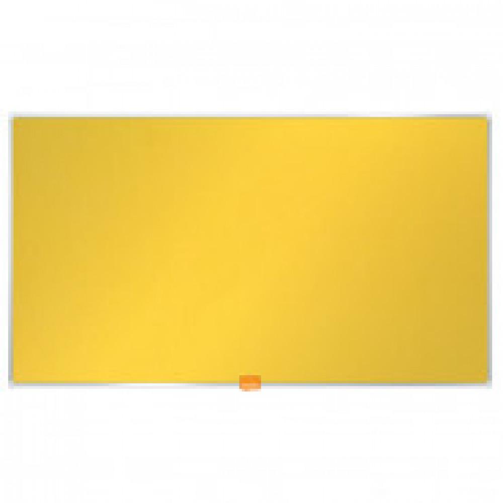 Доска для информации текстильная NOBO 85??/1880х1060мм желтый 1905321