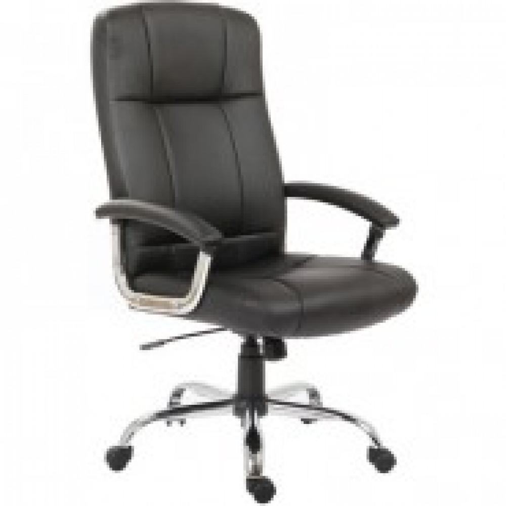 Кресло BN_Dp_Руководителя EChair-524 TPU к/з черный, хром