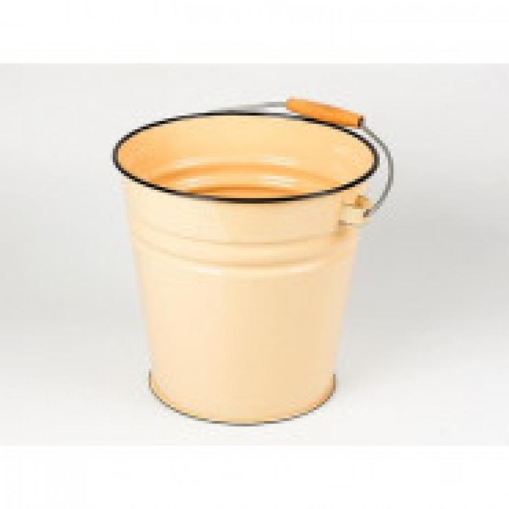 Ведро эмалированное Эмаль без крышки 12 л диаметр 26 см (артикул производителя 1024М)