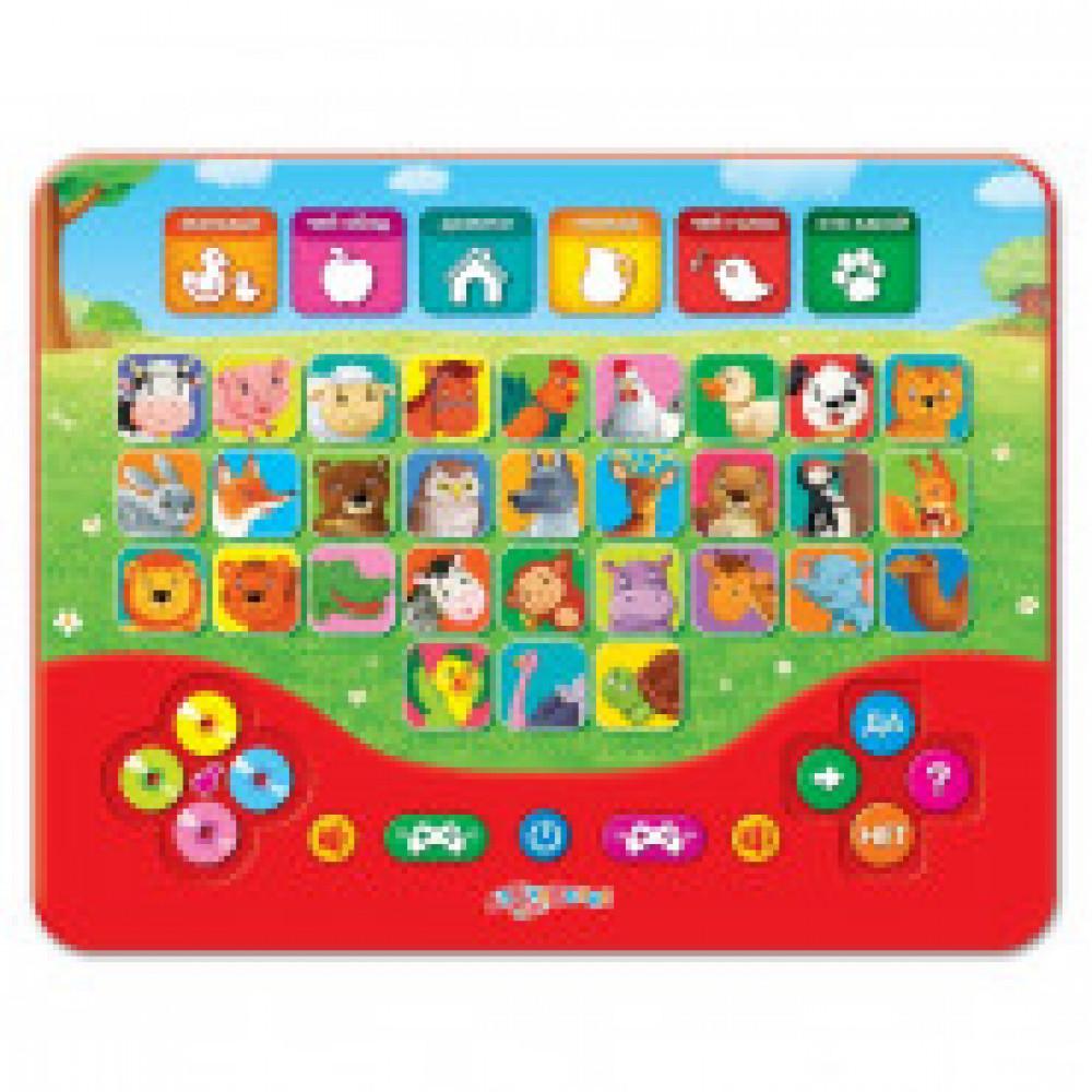Игрушка интерактивная Зоовикторина Игровой планшетик умничка 00-00001926