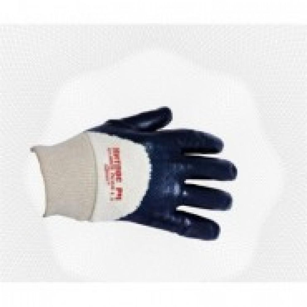 Перчатки защитные Ампаро Нитрос неполное нитрилов покр резинка (446575)р.11
